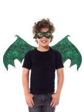 Green Dragon Wings & Mask Set