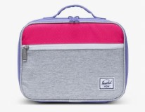 Pop Quiz Lunchbox Grey/Raspberry/Purple