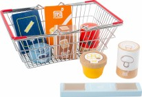 Groceries Set in a Basket