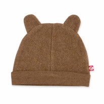 Hat Fleece Heather Mocha 12m