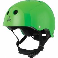Helmet Lil 8 Neon Green Glossy