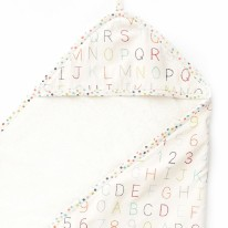 Hooded Towel Alphabet