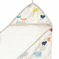 Hooded Towel Noah's Ark