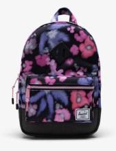 Heritage Kid Backpack Blurry Floral/Black