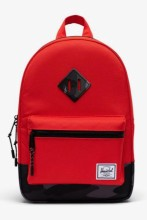 Heritage Kid Backpack Fiery Red/Night Camo
