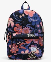 Heritage Youth Backpack Night Floral Black