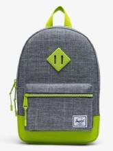 Heritage Kid Backpack Raven/Lime Green