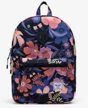 Heritage Kid Backpack Night Floral Black