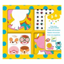 I Love Animals Sticker Kit