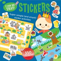 I Can Do That! Sticker Book