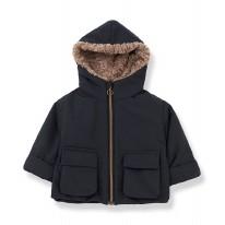 Jack Coat Charcoal 12-18m