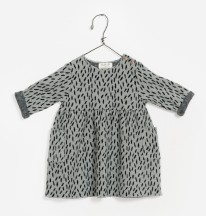 Jacquard Dress 6-9m