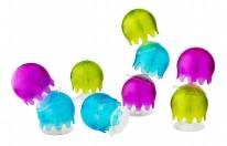 Jellies Bath Toys -Aqua/Purple/Lime