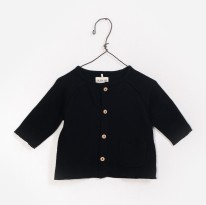 Jersey Jacket Black 9-12m