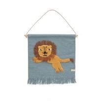 Wallhanger Jumping Lion
