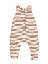 Jumpsuit Rust Stripe 3-6m