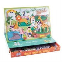 Magnetic Play Scenes- Jungle