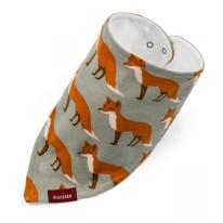 Kerchief Bib Orange Fox
