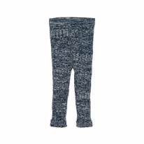 Knitted Legging Navy 12-18m