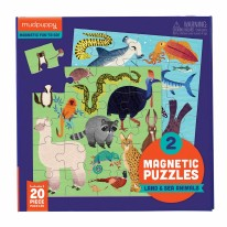 Land & Sea Animal Magnetic Puzzle