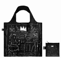 LOQI Tote Bag Basquiat Crown