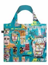LOQI Tote Bag Basquiat Skull