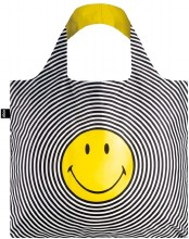 LOQI Tote Bag Smiley Spiral