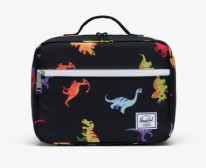 Pop Quiz Lunch Box Dinosaurs Black