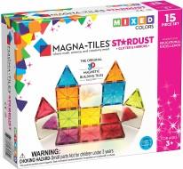 Magna-Tiles Stardust 15-Piece