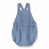 Mao Romper Denim 6-9m