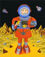 Mission Man Giclee Print