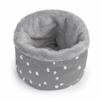 Neckwarmer Spots Grey 1-3y