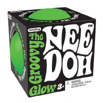 Nee-Doh Glow-in-the-Dark Squishy Ball