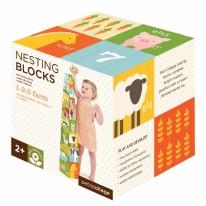Farm 123 Nesting Blocks
