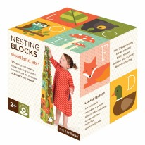 Woodlands ABC Nesting Blocks