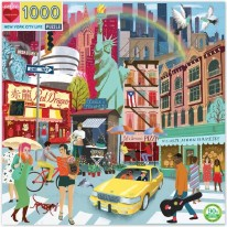 New York City Life Puzzle - 1000pc
