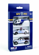 NYPD 3pc Vehicle Set