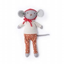 Oliver Mouse Bonnet/Fawn Pants