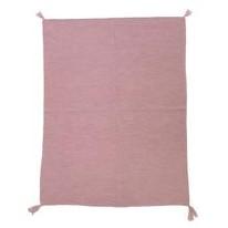 Organic Alpaca Blanket Mauve