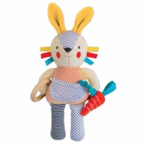 Organic Baby Toy Bunny Pink