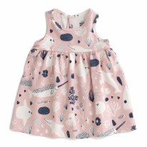 Oslo Dress Sea Creature 3-6m