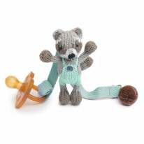Pacifier Holder Ramsey Raccoon