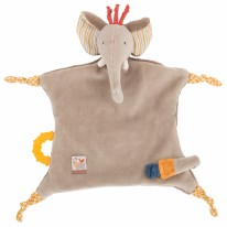 Pacifier Lovey Elephant