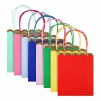 Party Bags Multicolor Pk of 8