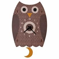 Owl Pendulum Clock