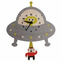 Saucer Pendulum Clock