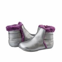 Polar Boot Silver/Plum 6-9m