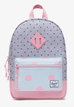 Heritage Kid Backpack Polka Dot Peony