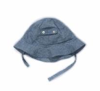 Poppy Hat Blue Denim 6-12m