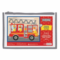 Pouch Puzzle Fire Truck